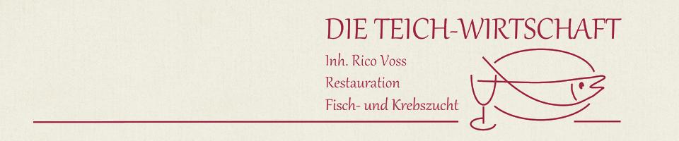 """""""Teich-Wirtschaft"""" Voss"""